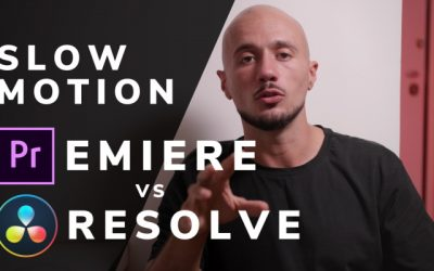 Slow motion: Premiere vs Resolve