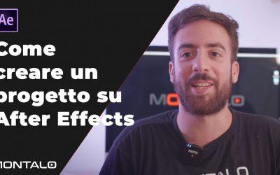Come creare un progetto su After Effects