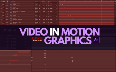 Video realizzati in motion graphics (Live Review)