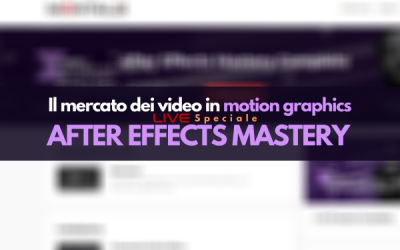 Il mercato dei video in motion graphics (LIVE)