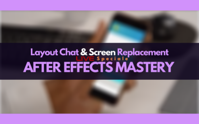 Layout chat e screen replacement (LIVE)