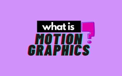 Motion graphics: tutti la cercano, tutti la vogliono