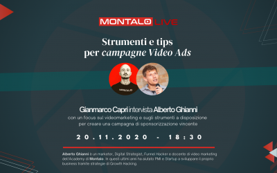Strumenti e tips per campagne video ads (LIVE)