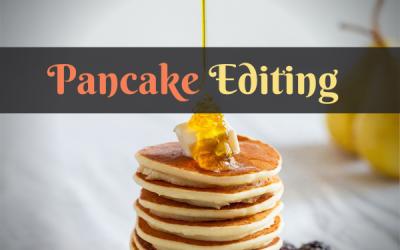 Come gestire il pancake editing senza fare una frittata