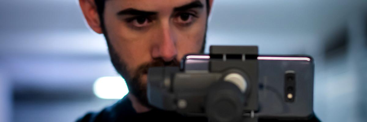 Fabrizio Rienzi docente del corso Smartphone Videomaking