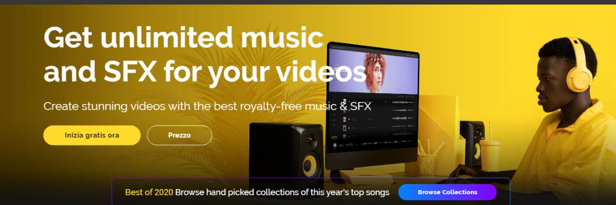 Artlist e la musica per i tuoi video