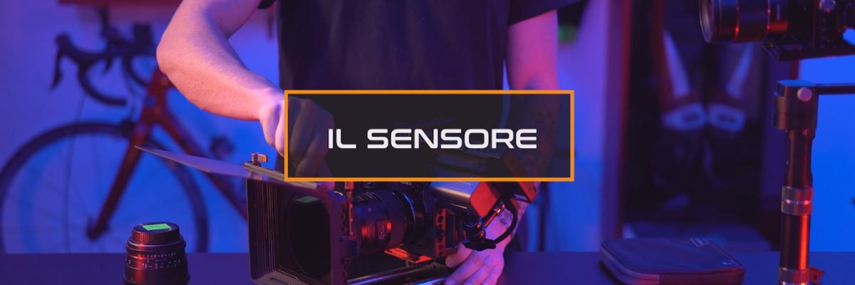 sensore videocamera videomaking