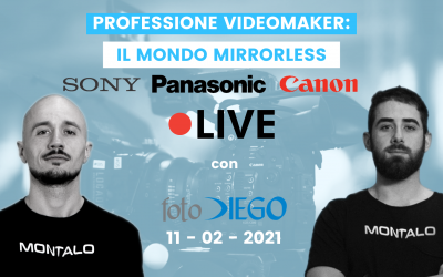 Il mondo mirrorless: Sony, Panasonic e Canon (LIVE)