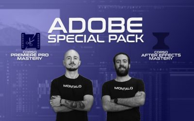 Adobe Special Pack: Premiere Pro e After Effects Mastery in un'unica soluzione