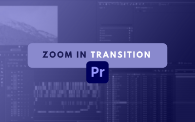 Zoom in transition senza plug-in su Premiere Pro